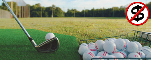Avoid spending time and money driving to the range and expensive balls buckets